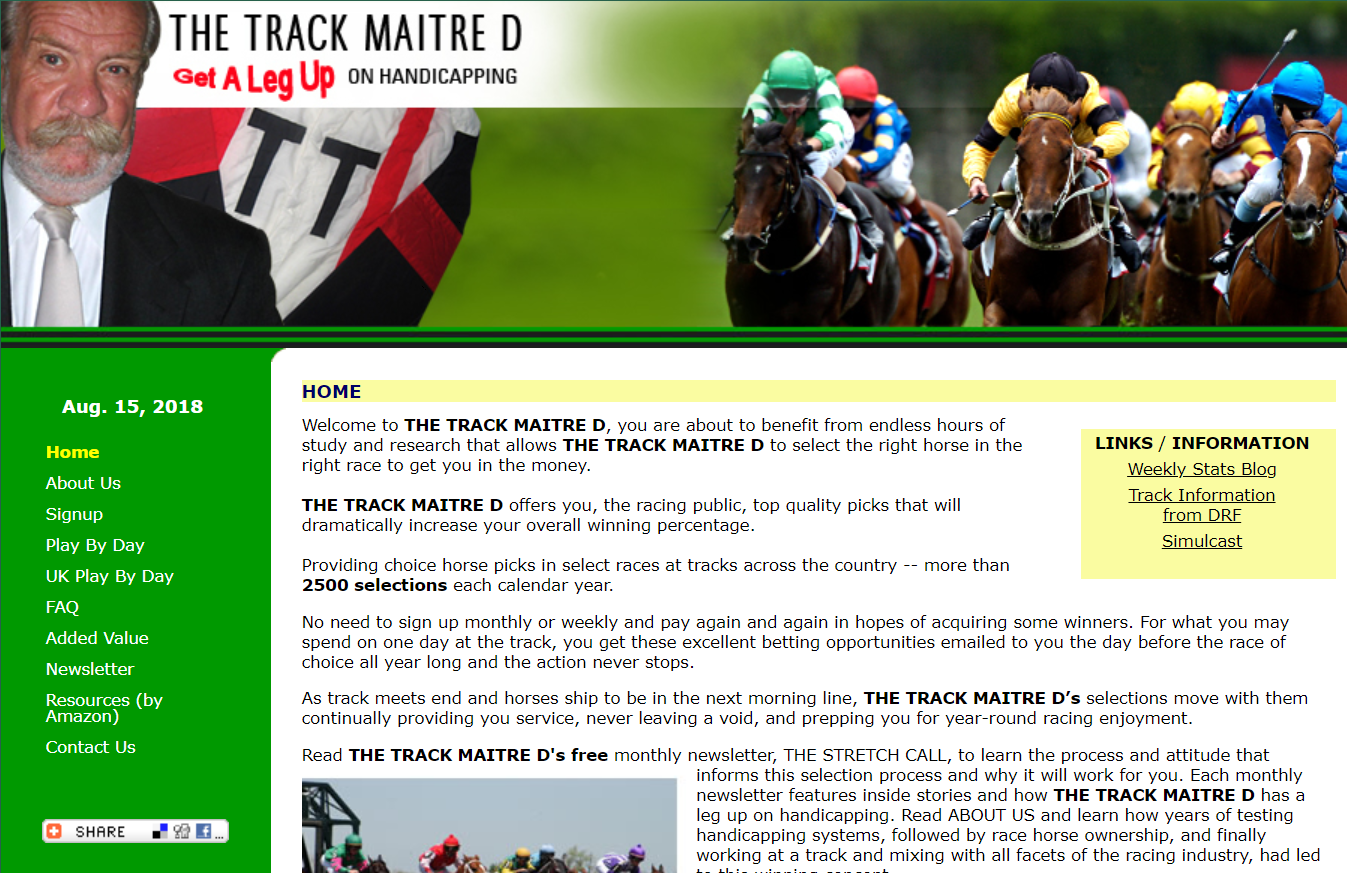 The Track Maitre D
