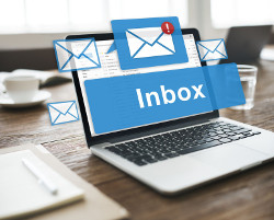 Email from Rackspace, business class email accounts with